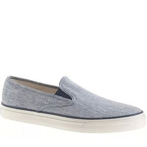 Sperry Top-Sider® for J.Crew CVO slip-on sneakers.